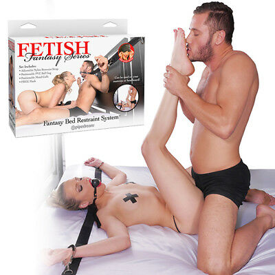 Kit 5 Piezas Sistema De Retencion Ff Fantasy Bed Restraint | Pipedream