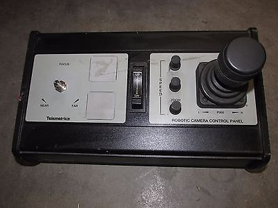 Telemetrics CP-D-3C D3C desktop serial control / robotic camera control panel