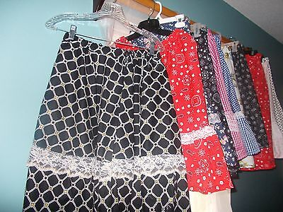 "New Square Dance Full Circle Skirts 22"" - 23""  Long Made In Usa M L Xl 2Xl Xxl"