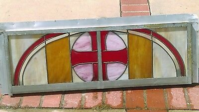vintage church stained glass window