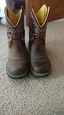 Ariat Brown Western Boots Size 7.5 USA