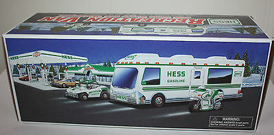 Hess 1998 Recreation Van, Motorcycle and Dune Buggy - New in Box