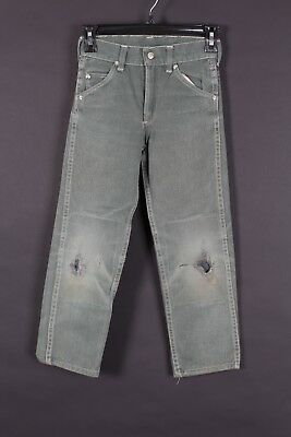 VINTAGE 50S SEARS CIRCLE S WESTERN PANTS YOUTH KIDS SIZE 22x21