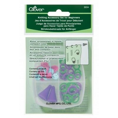 Clover Knitting Accessory Set for Beginners #3034