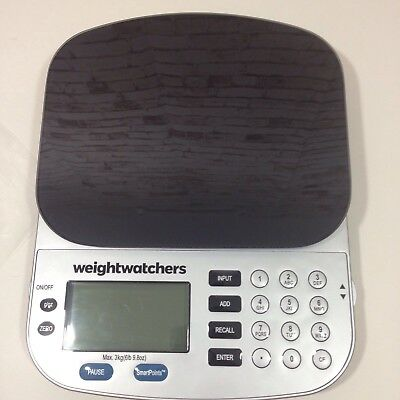 weightwatchers propoints plan kitchen scales boxed with. Black Bedroom Furniture Sets. Home Design Ideas