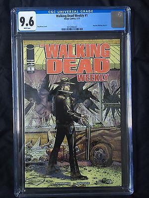 The Walking Dead 1 CGC 9.6 WEEKLY EXTREMELY RARE VARIANT