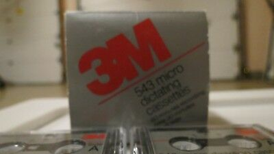 Micro cassette dictating tapes- 3M