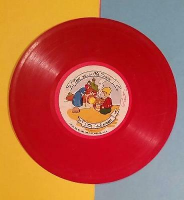 VINTAGE 1950's CHILDREN'S RECORD GUILD of AMERICA - LITTLE JACK HORNER - DING DO
