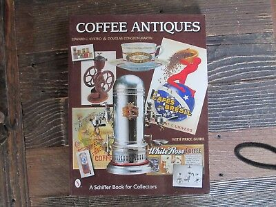 Coffee Antiques Price Guide Paperback Book Edward Kvetko Douglas Congdon Martin