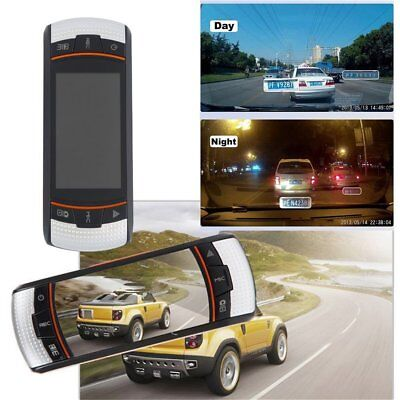F90 2.7inch LCD Screen Tachograph Motion Detection Dual Lens Vehicle Camera PM