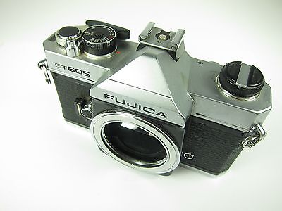 FUJICA ST605 Camera Body w/ orig booklet good condition vintage photo equipment