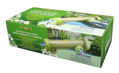 UVC - Green Water Clarifier for Ponds. BLAGDON Minipond 4500 UVC 5watt