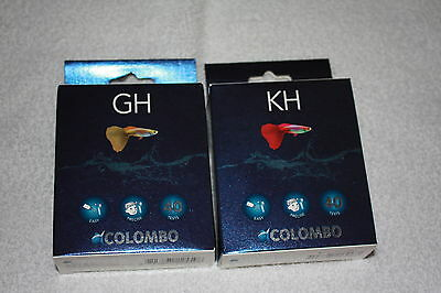 Colombo KH / GH Test Kit Tropical Fish  Koi Carp aquarium marine pond