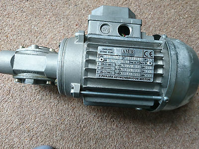 AMIR Motor 0.12kW and Bonfiglioli Reducer superb condition