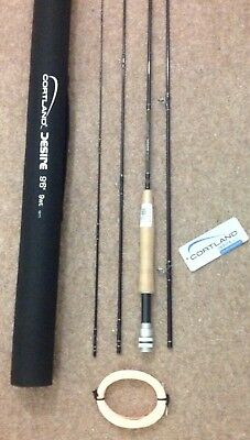 NEW CORTLANF FLY ROD COMPLETE WITH HARD CASE 9ft6 + Free Flyline