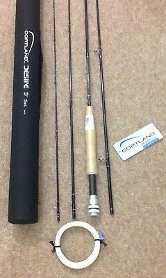 NEW CORTLANF FLY ROD COMPLETE WITH HARD CASE 9ft + Free Flyline