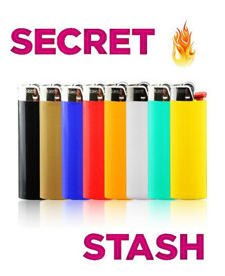Bic Lighter Stash Secret Box Hidden Compartment Diversion Safe Storage Case