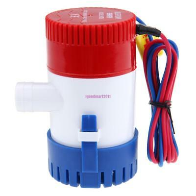 12V Submersible Electric Boat 350GPH Bilge Water Pump Marine Boat Bait