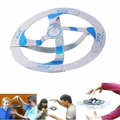 Mystery Floating UFO Flying Saucer Frisbee Magic Trick Prop Outdoor Kid Toy Gift