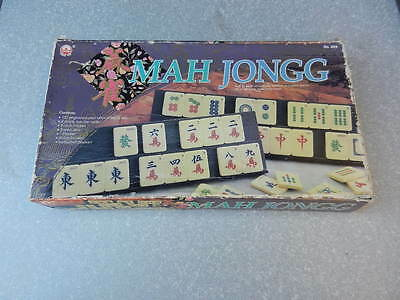 MAH JONGG Vintage TILE GAME 1992