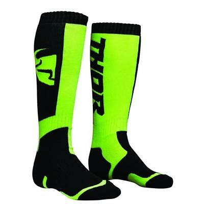 THOR SOCKS MX Motocross Socken 2018 - schwarz lime Motocross Enduro MX Cross