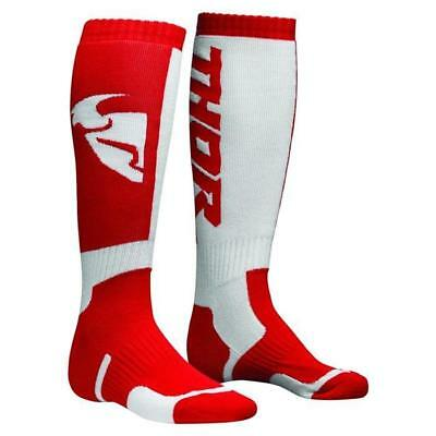 THOR SOCKS MX Motocross Socken 2018 - rot weiss Motocross Enduro MX Cross
