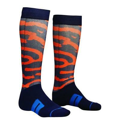 THOR SOCKS MOTO SUB Motocross Socken 2018 - navy orange teal Motocross Enduro MX