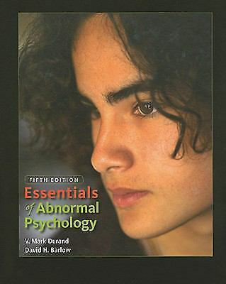 Essentials of Abnormal Psychology, 5th Edition by Barlow, David H., Durand, V.