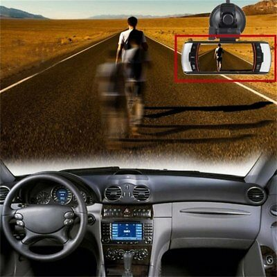 F90 2.7inch LCD Screen Tachograph Motion Detection Dual Lens Vehicle Camera PE