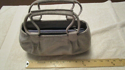 b527142a8c NWOT COLE HAAN mini Lilac Croco Embossed Leather Satchel - $22.00 ...