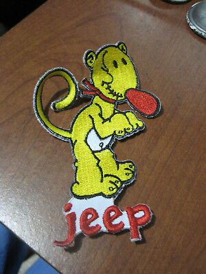 Popeye character Eugene the JEEP  embroidered patch
