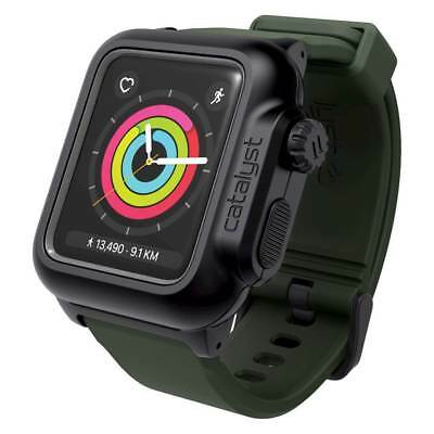 Catalyst - Case for Apple Watch42mm Series 2 - Black/Army Green