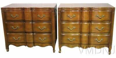 VMD1567 Pair Louis XVI Style Provincial Commodes