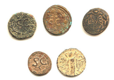 Roman Provincial Lot of 5 Israel includes 4 from Antioch