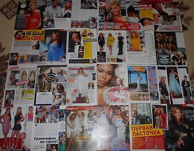 BEYONCE KNOWLES - Magazine Clippings Articles BIG Collection # 1