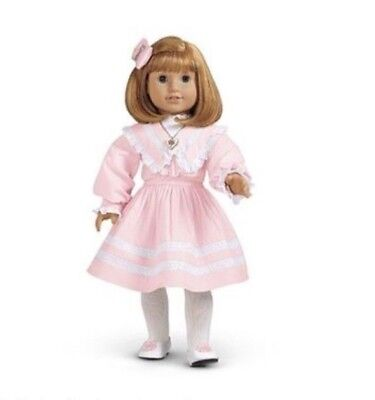 """AMERICAN GIRL NELLIE'S SPRING PARTY dress outfit for """"18 DOLL NOT INCLUDED NIB"""