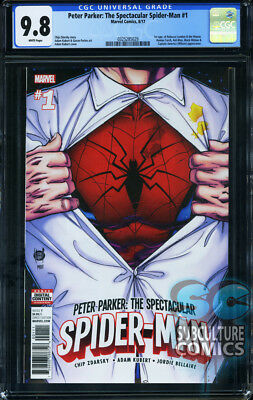 Peter Parker Spectacular Spider-Man #1 - First Print - Cgc 9.8 - Sold Out