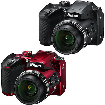 Nikon COOLPIX B500 16MP 40x Optical Zoom Digital Camera w/ WiFi - Choose Color