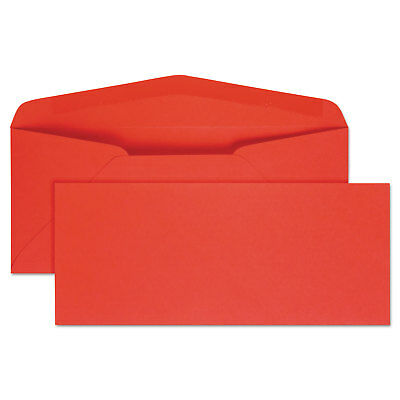 Quality Park Colored Envelope Traditional #10 Red 25/Pack 11134
