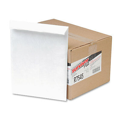 Survivor DuPont Tyvek Air Bubble Mailer Self Seal 10 x 13 White 25/Box R7545