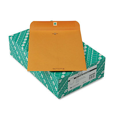 Quality Park Clasp Envelope Recycled 9 x 12 28lb Light Brown 100/Box 38190