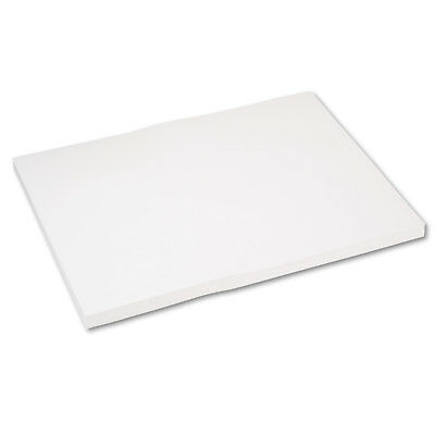 Pacon Medium Weight Tagboard 24 x 18 White 100/Pack 5290