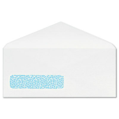 Columbian Poly Klear Security Window Envelopes #10 4 1/8 x 9 1/2 White 500/Box