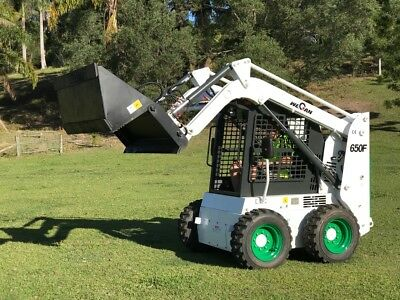 Bobcat Attachment Compatible Skid Steer 650F