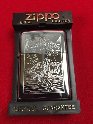 Camel Joe's Fishing Chrome Zippo Z114 Zippo Lighter