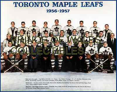 1957 Toronto Maple Leafs Team Photo 8X10
