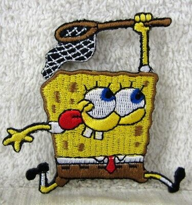 Nice SPONGEBOB SQUAREPANTS Holding NET Patch
