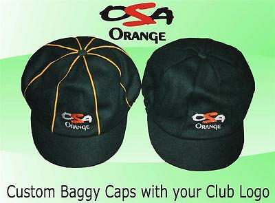 15 X Custom Baggy Cap / Hat - Pre Order Custom made for Clubs Any Color/ Design