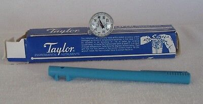 """Taylor BI-THERM dial thermometer -40/+120 degrees with 15/16"""" dial 5"""" stem"""