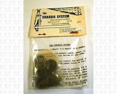 The Chassis System O Parts: Atlas F9 Replacement Wheels CS-10